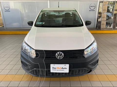 Volkswagen Saveiro Starline AC usado (2018) color Blanco precio $184,900