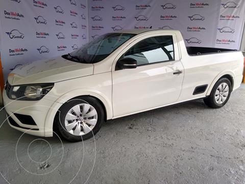 Volkswagen Saveiro STARLINE CAB SENCILLA usado (2018) color Blanco precio $215,000