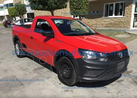 Volkswagen Saveiro Robust (Cabina Sencilla) A/A usado (2019) color Rojo precio $129,000
