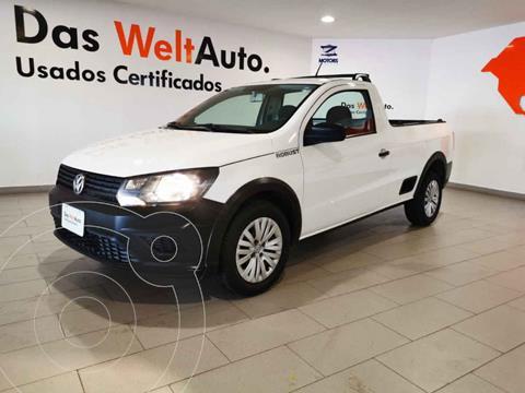 Volkswagen Saveiro Robust (Cabina Sencilla) usado (2019) color Blanco precio $219,900