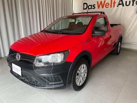 Volkswagen Saveiro ROBUST 2P L4 1.6L AC 1TON TM usado (2020) color Rojo precio $235,000