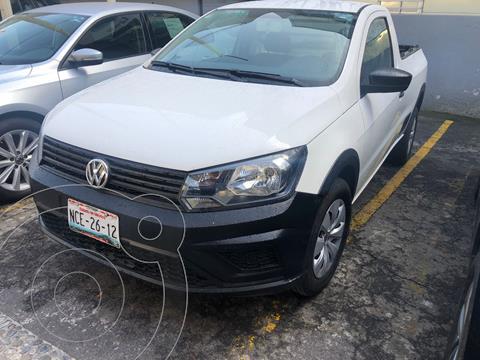 Volkswagen Saveiro STARLINE CAB SENCILLA usado (2018) color Blanco Candy precio $225,000
