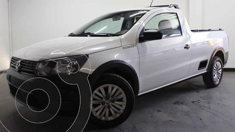 Volkswagen Saveiro Robust (Cabina Sencilla) A/A usado (2019) color Blanco precio $200,000