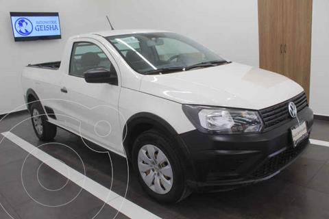 Volkswagen Saveiro Starline usado (2018) color Blanco precio $209,000