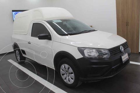 Volkswagen Saveiro Starline AC usado (2017) color Blanco precio $219,000