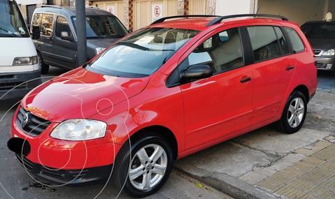 Volkswagen Suran 1.6 Highline usado (2009) color Rojo precio $850.000