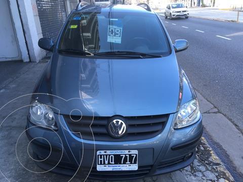Volkswagen Suran 1.6 Highline usado (2009) color Celeste precio $830.000