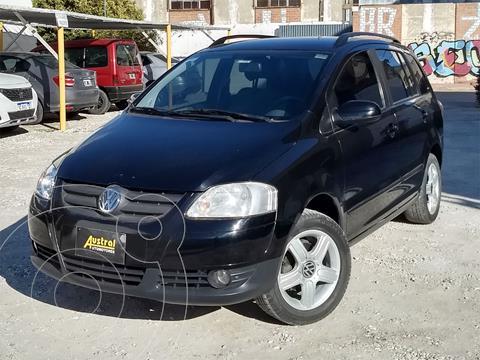 Volkswagen Suran 1.6 Track usado (2007) color Negro precio $430.000