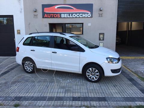 Volkswagen Suran 1.6 Comfortline usado (2014) color Blanco Cristal precio $780.000