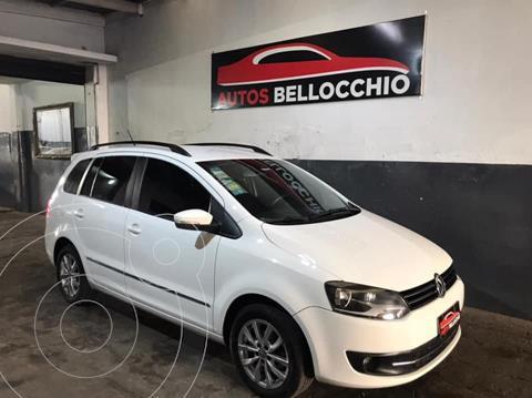 Volkswagen Suran 1.6 Highline usado (2013) color Blanco precio $1.190.000