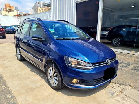 Volkswagen Suran 1.6 Highline usado (2015) color Azul Starlight financiado en cuotas(anticipo $1.109.900)