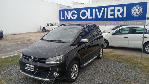 Volkswagen Suran Cross 1.6 Highline usado (2014) color Negro precio $1.240.000