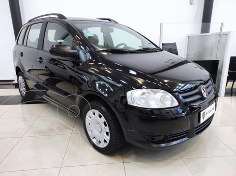 Volkswagen Suran 1.6 Trendline usado (2009) color Negro financiado en cuotas(anticipo $760.000)