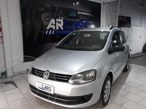 Volkswagen Suran 1.6 Trendline usado (2013) color Gris Off-Road financiado en cuotas(anticipo $650.000)