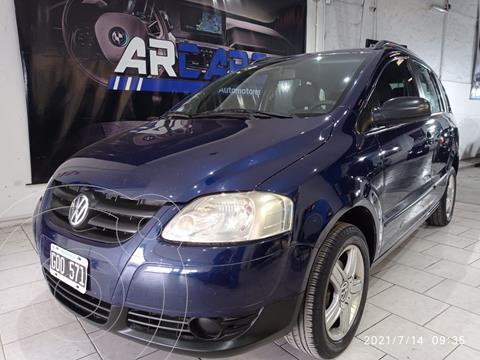 Volkswagen Suran 1.6 Comfortline usado (2007) color Azul financiado en cuotas(anticipo $450.000)