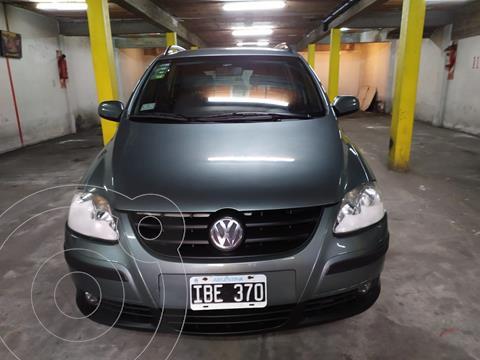Volkswagen Suran 1.6 Trendline usado (2009) color Gris financiado en cuotas(anticipo $380.000)