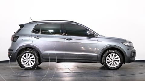 Volkswagen T-Cross Comfortline 200 TSi Aut usado (2020) color Gris Platino precio $3.250.000