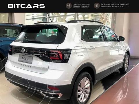 OfertaVolkswagen T-Cross Comfortline 200 TSi Aut nuevo color Blanco precio $3.510.000
