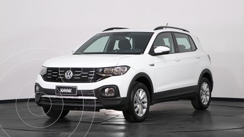 Volkswagen T-Cross Comfortline usado (2019) color Blanco precio $3.110.000