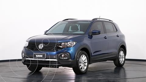 Volkswagen T-Cross Comfortline usado (2020) color Azul precio $2.660.000