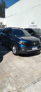 Volkswagen T-Cross Comfortline Plus Aut usado (2021) color Azul financiado en cuotas(anticipo $1.850.000 cuotas desde $59.000)