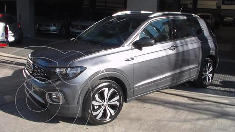 Volkswagen T-Cross Highline 200 TSi Aut usado (2021) color Gris precio $4.399.900