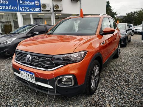 Volkswagen T-Cross Highline Aut usado (2020) color Naranja precio $3.190.000