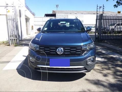 Volkswagen T-Cross 1.6L Comfortline Aut  usado (2020) color Azul precio $14.000.000