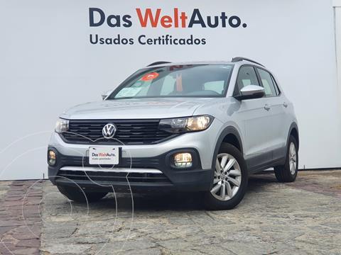 Volkswagen T-Cross Trendline  usado (2020) color Plata Dorado precio $335,000