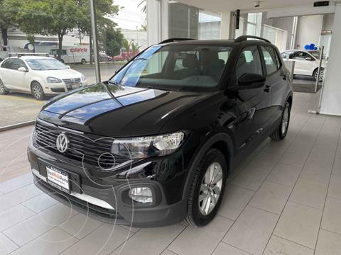 Volkswagen T-Cross Trendline Aut usado (2021) color Negro precio $370,000