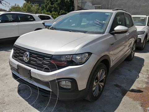 Volkswagen T-Cross COMFORTLINE L4 1.6L ABS BA AC TIPTRO TA usado (2020) color Plata Reflex precio $359,500