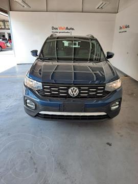 Volkswagen T-Cross COMFORTLINE L4 1.6L ABS BA AC TIPTRO TA usado (2020) color Azul precio $370,000