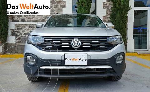 Volkswagen T-Cross Comfortline Aut usado (2020) color Plata precio $355,200
