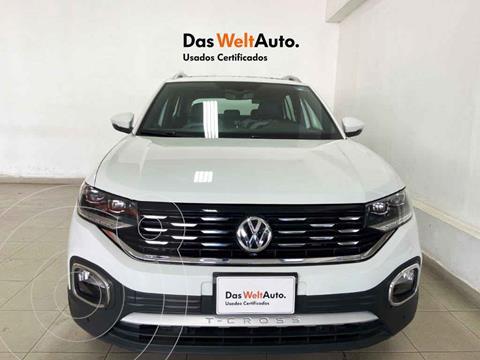 Volkswagen T-Cross Highline Aut  usado (2020) color Blanco precio $399,543