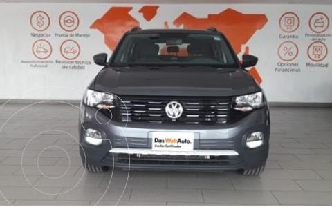 Volkswagen T-Cross HIGHLINE L4 1.6L VP ABS BA TCORR AC TIP usado (2020) color Plata precio $405,500