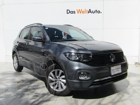 Volkswagen T-Cross Trendline Aut usado (2020) color Gris precio $325,000
