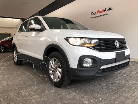 Volkswagen T-Cross Trendline  usado (2021) color Blanco precio $375,000