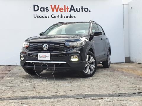 Volkswagen T-Cross Comfortline   usado (2020) color Negro precio $360,000