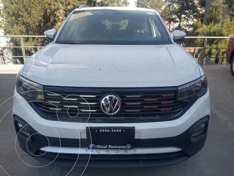 Volkswagen T-Cross Comfortline Aut usado (2020) color Blanco precio $370,000