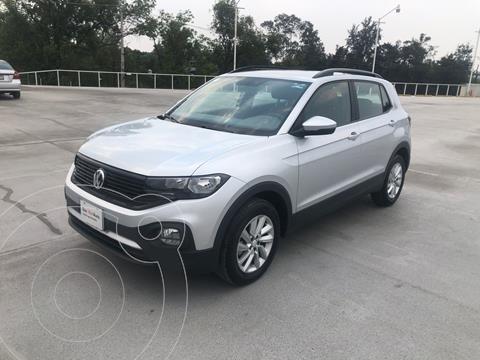 Volkswagen T-Cross Trendline  usado (2020) color Plata Dorado precio $340,000