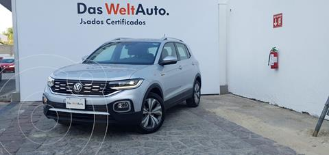 Volkswagen T-Cross Highline  usado (2020) color Plata Dorado precio $400,000