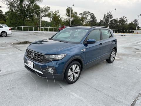 Volkswagen T-Cross Comfortline   usado (2020) color Azul precio $360,000