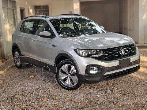 Volkswagen T-Cross Comfortline Aut usado (2020) color Plata precio $395,000