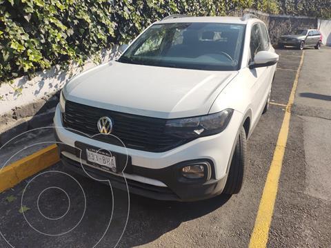 Volkswagen T-Cross TRENDLINE L4 1.6L ABS BA AC TM usado (2020) color Blanco precio $345,000