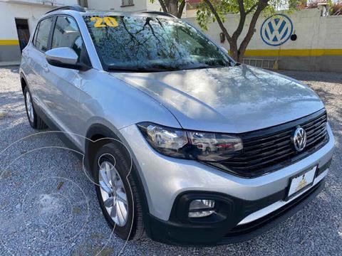 Volkswagen T-Cross Trendline Aut usado (2020) color Gris precio $319,000