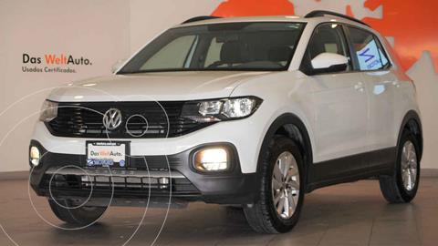 Volkswagen T-Cross Trendline Aut usado (2020) color Blanco precio $349,900