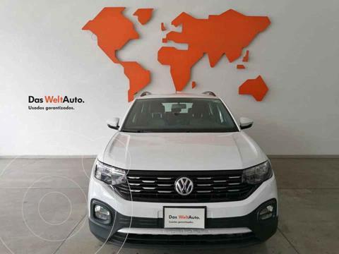 Volkswagen T-Cross Comfortline Aut usado (2020) color Blanco precio $354,735