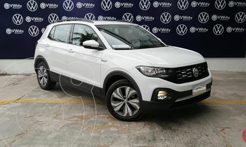 Volkswagen T-Cross Comfortline Aut usado (2020) color Blanco precio $350,000