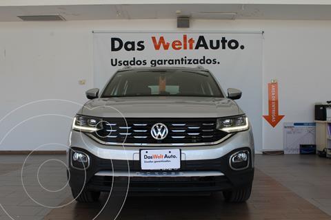 Volkswagen T-Cross HIGHLINE L4 1.6L VP ABS BA TCORR AC TIP usado (2020) color Plata Reflex precio $407,000
