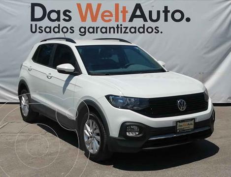 Volkswagen T-Cross Trendline Aut usado (2020) color Blanco precio $328,900